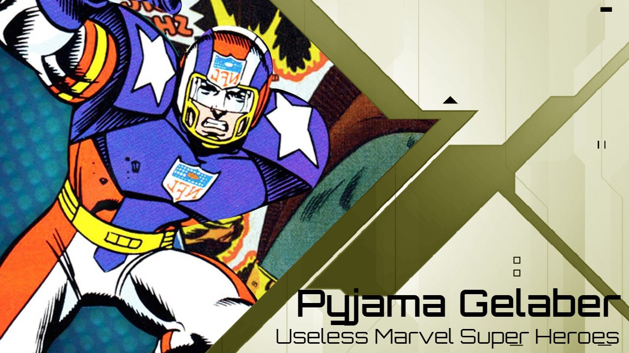 Pyjama Gelaber – Usless Marvel Superhelden mit eigenem Comic